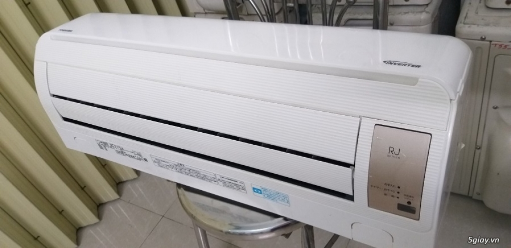 Máy lạnh cũ nội địa nhật Toshiba vào mùa mưa bão - 14