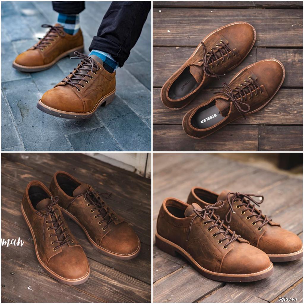 Shop bán giày nam, Những mẫu giày da nam đẹp nhất 2019 - zadep.com - 30