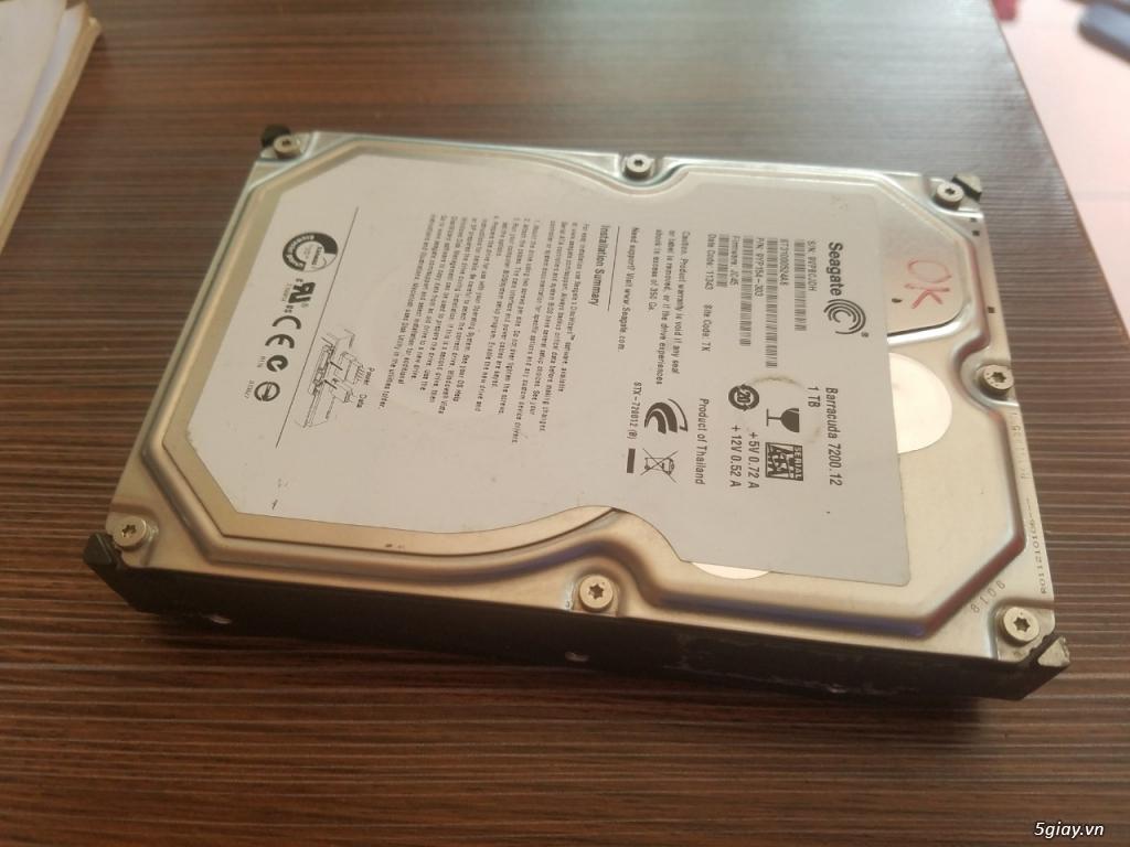 Thanh lý vài cái HDD máy bàn - 1