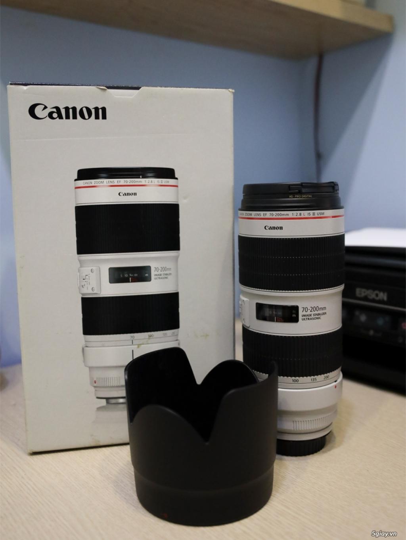 HCM - Cần ra đi lens Canon EF 70-200 f/2.8L IS III USM mới 99.99%