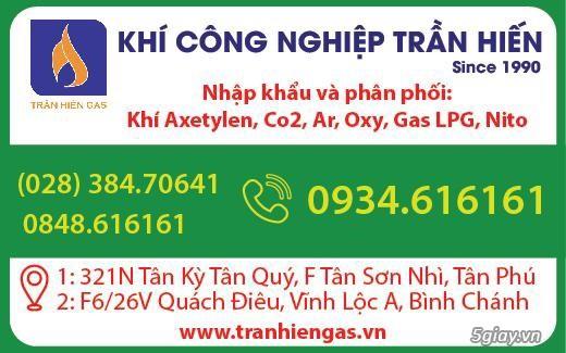 Chuyên kinh doanh khí công nghiệp ( Oxy y tế, Ar, Nitơ, Co², Acetylen ... ) - 38