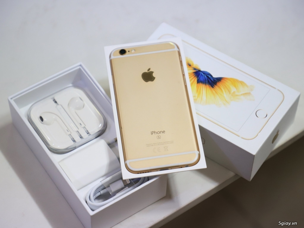 iPhone 6s 32gb GOLD fullbox CHƯA ACTIVE .. End 22h59 -29/11/2019 - 2