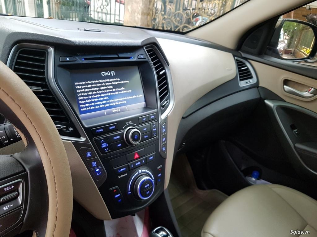Đổi xe. Bán gấp Hyundai Santa Fe 4WD - Màu Nâu full option. - 7