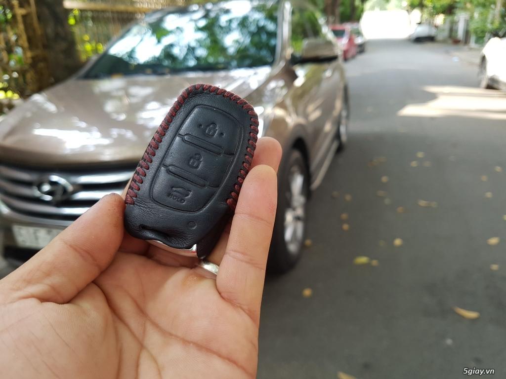 Đổi xe. Bán gấp Hyundai Santa Fe 4WD - Màu Nâu full option. - 2