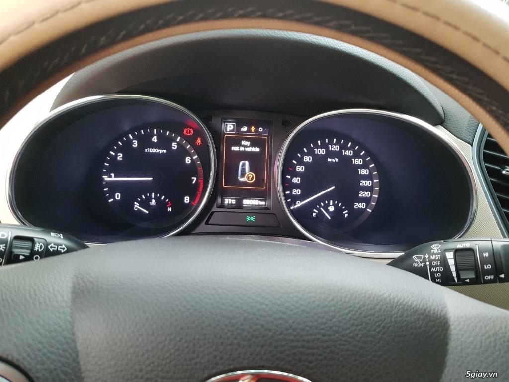 Đổi xe. Bán gấp Hyundai Santa Fe 4WD - Màu Nâu full option. - 6