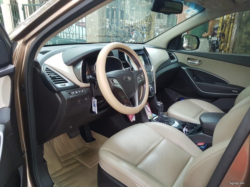 Đổi xe. Bán gấp Hyundai Santa Fe 4WD - Màu Nâu full option. - 9