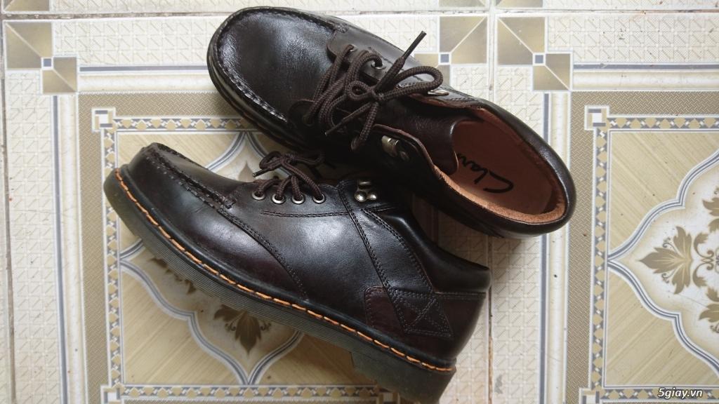 Đổi đôi giày Clark da bò - 1