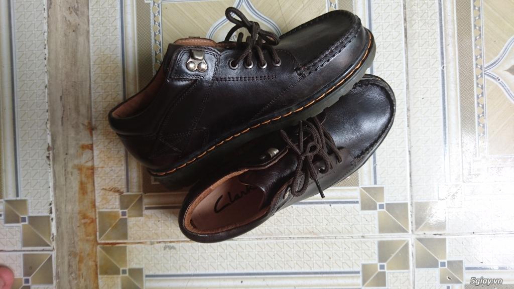 Đổi đôi giày Clark da bò - 2