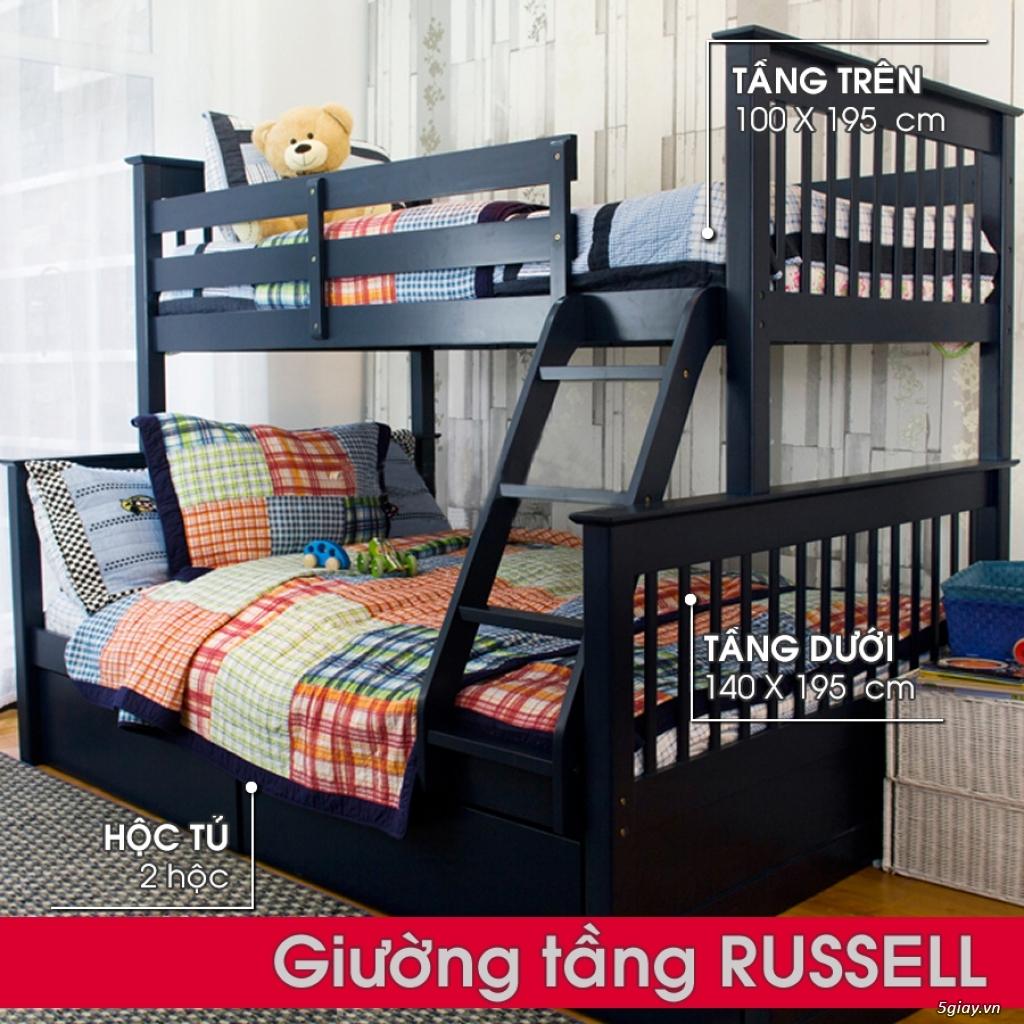 Giường tầng gỗ - Mẹ Vì Bé