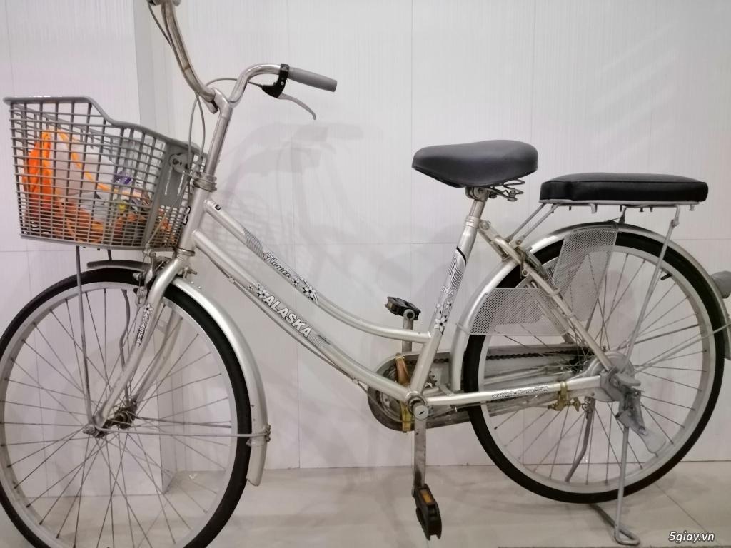 Cần thanh lý xe đạp Alaska màu xsm