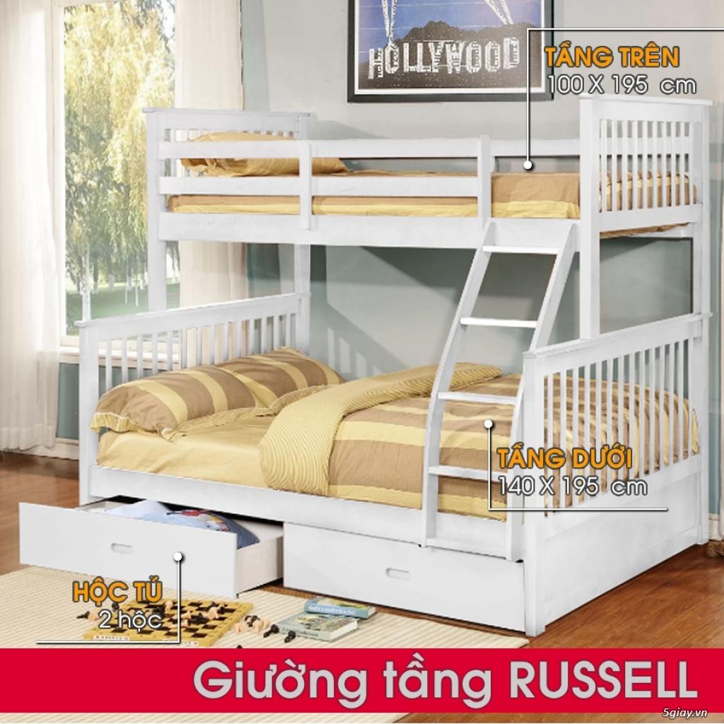 Giường tầng gỗ - Mẹ Vì Bé - 1