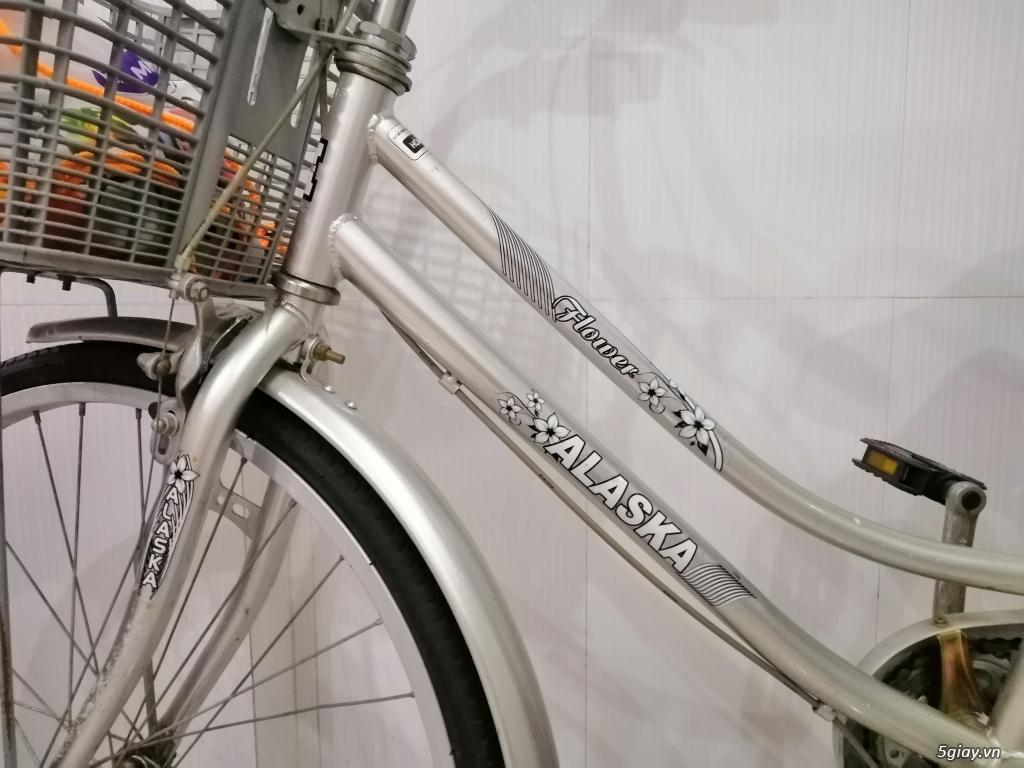 Cần thanh lý xe đạp Alaska màu xsm - 1