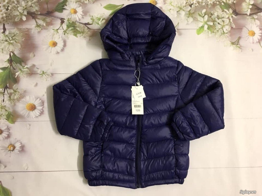 áo phao siêu nhẹ trẻ em của GSM KID HÀNG XUẤT . #250k /1 áo - 2