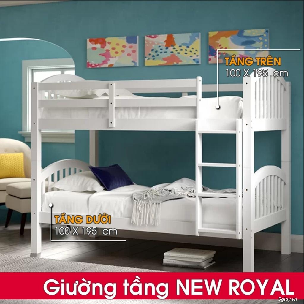 Giường tầng gỗ - Mẹ Vì Bé - 2