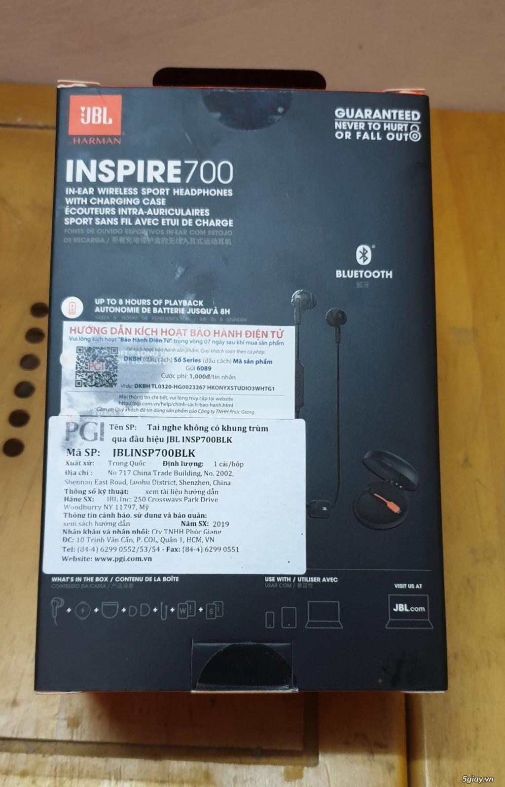 Tai Nghe Bluetooth JBL Inspire 700 Chính Hãng, Mới 100% - 1