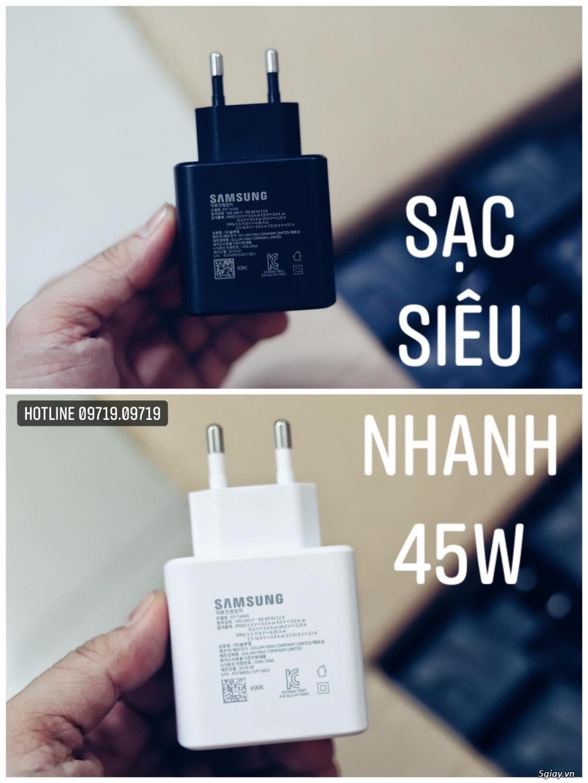 Sạc siêu nhanh 45W Samsung Chính Hãng - Bảo hành 12 tháng !! - 2