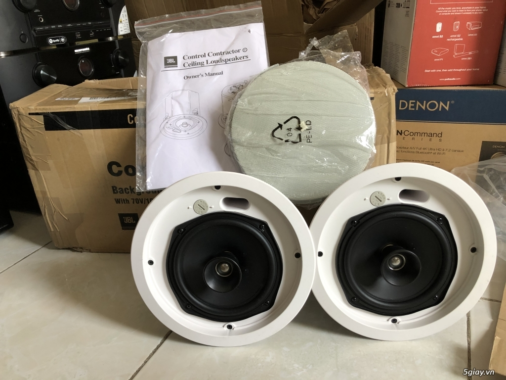 Ampli, CD, receiver, loa, subwoofer, center, surround các loại... - 7