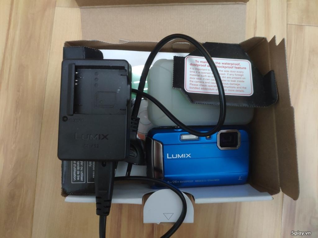 Máy ảnh KTS chống nước chống sốc Panasonic DMC-FT30 hàng Úc chỉ 3tr