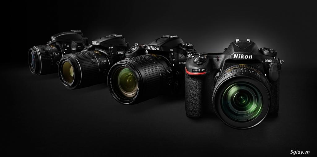 Body & Lens Nikon, Full-Frame & Crop các loại