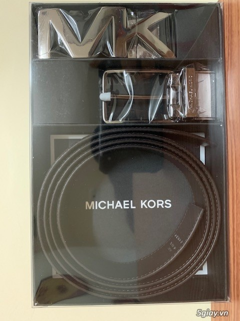 Set thắt lưng nam 4 in 1 hiệu Micheal Kors - 1
