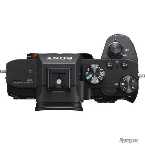 Máy ảnh sony a7iii + zoom lens Kit 100% mới Hàng Us - 2