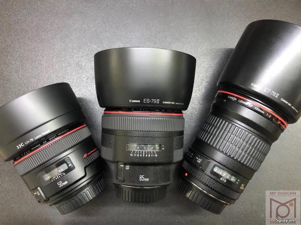 Vài con lens chất lượng cho Canon full-frame