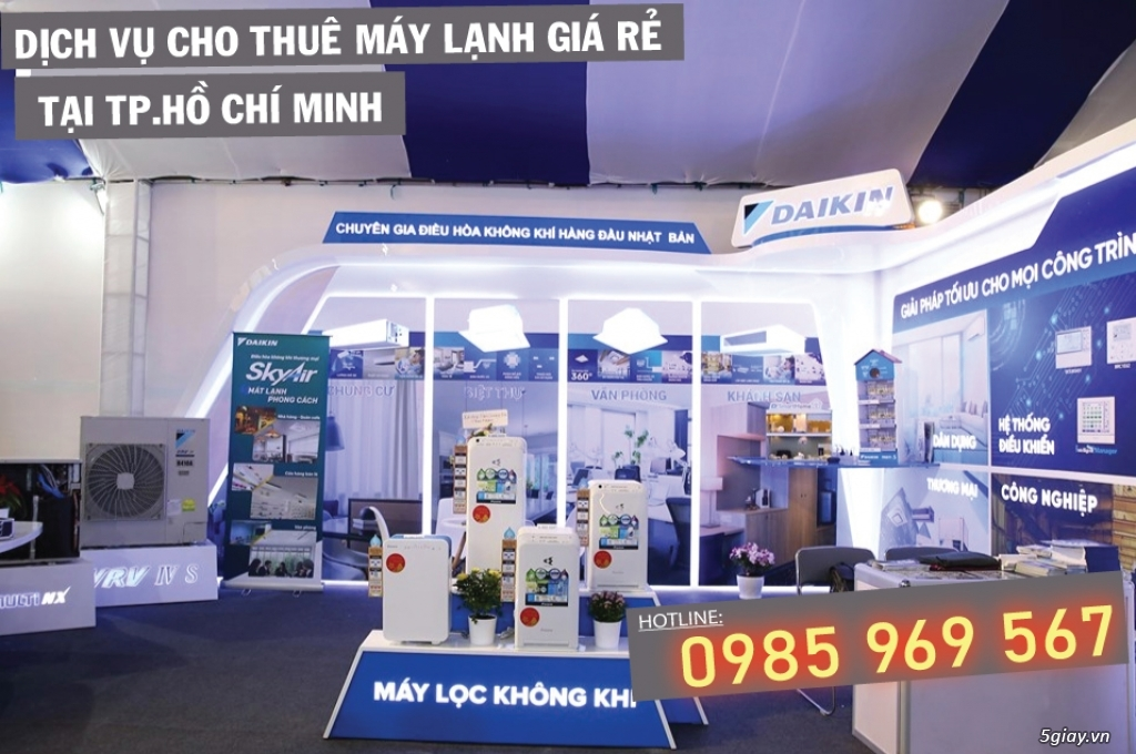 Địa điểm thuê điều hòa uy tín tại TP. Hồ Chí Minh - 1