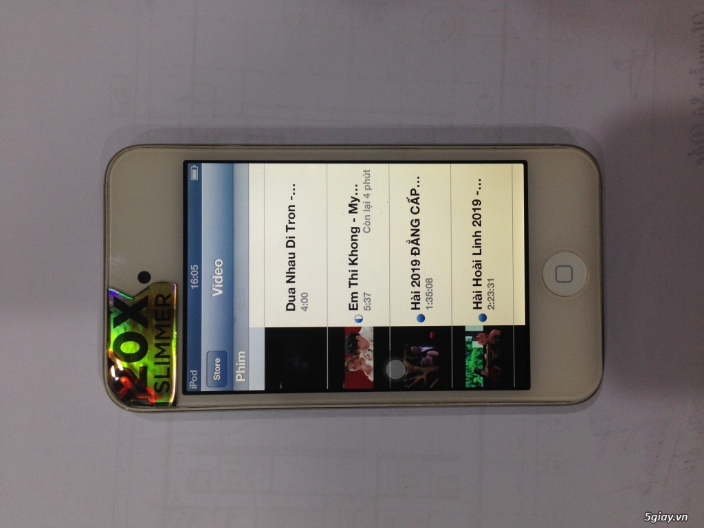 thanh lý em ipod touch 4 còn sử dụng tốt - 1