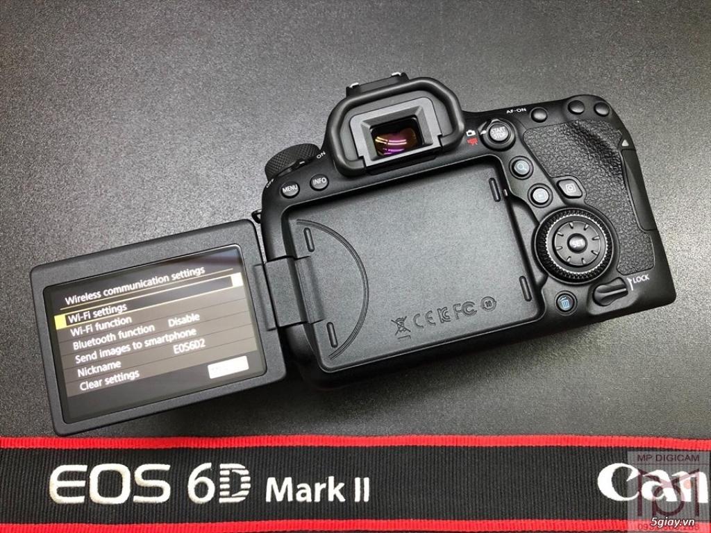 Canon 6D mark I & mark II, máy đẹp, zin - 1