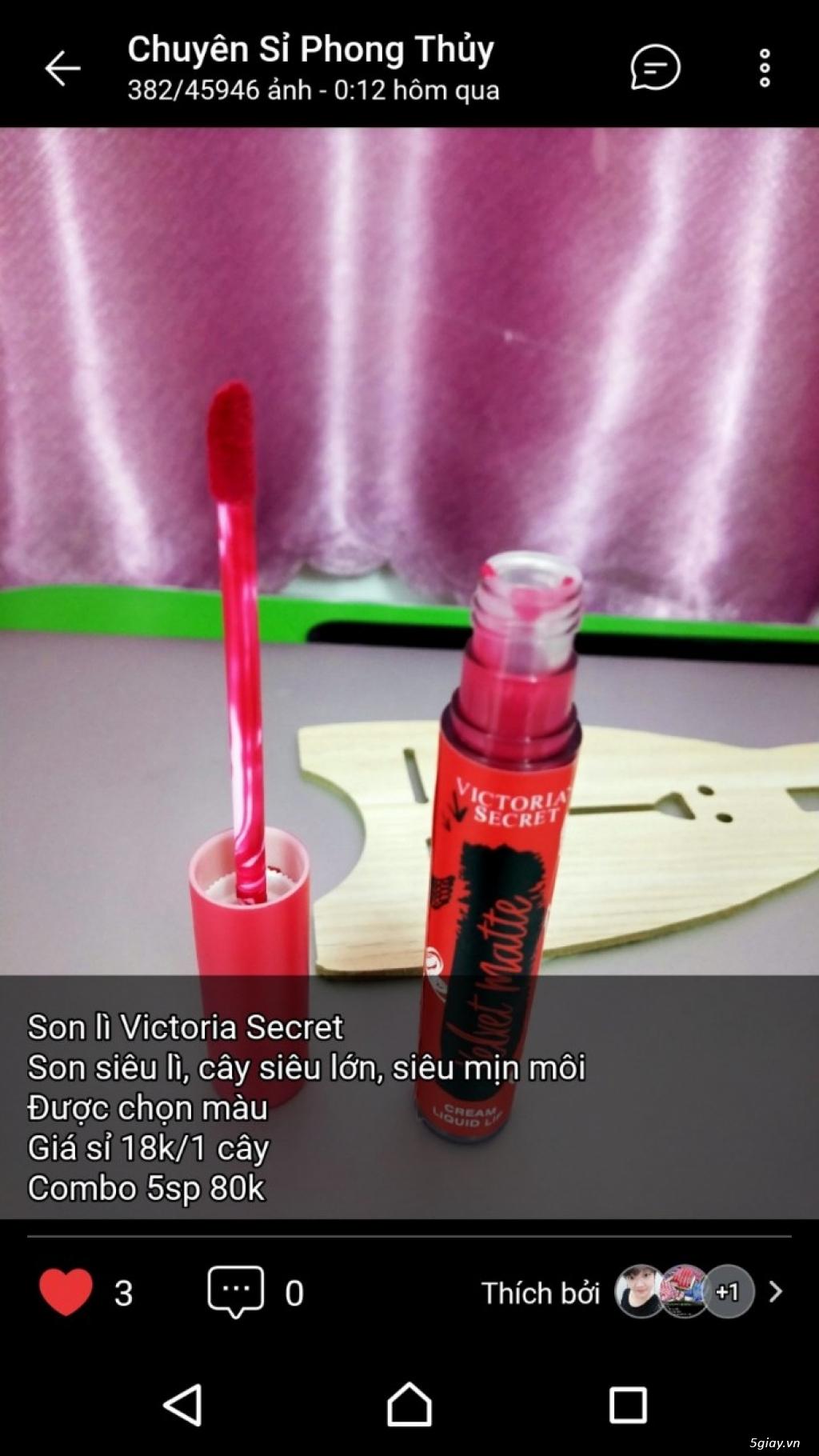 Shop sỉ mỹ phẩm, son môi, nước hoa, son thỏi, son kem, son xăm - 30