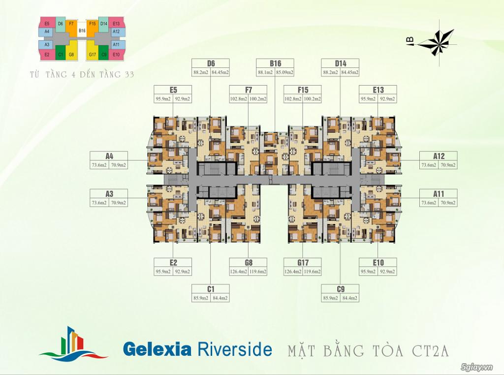 Chính chủ cần bán căn hộ 3PN dự án Gelexia Riverside bao phí - 4
