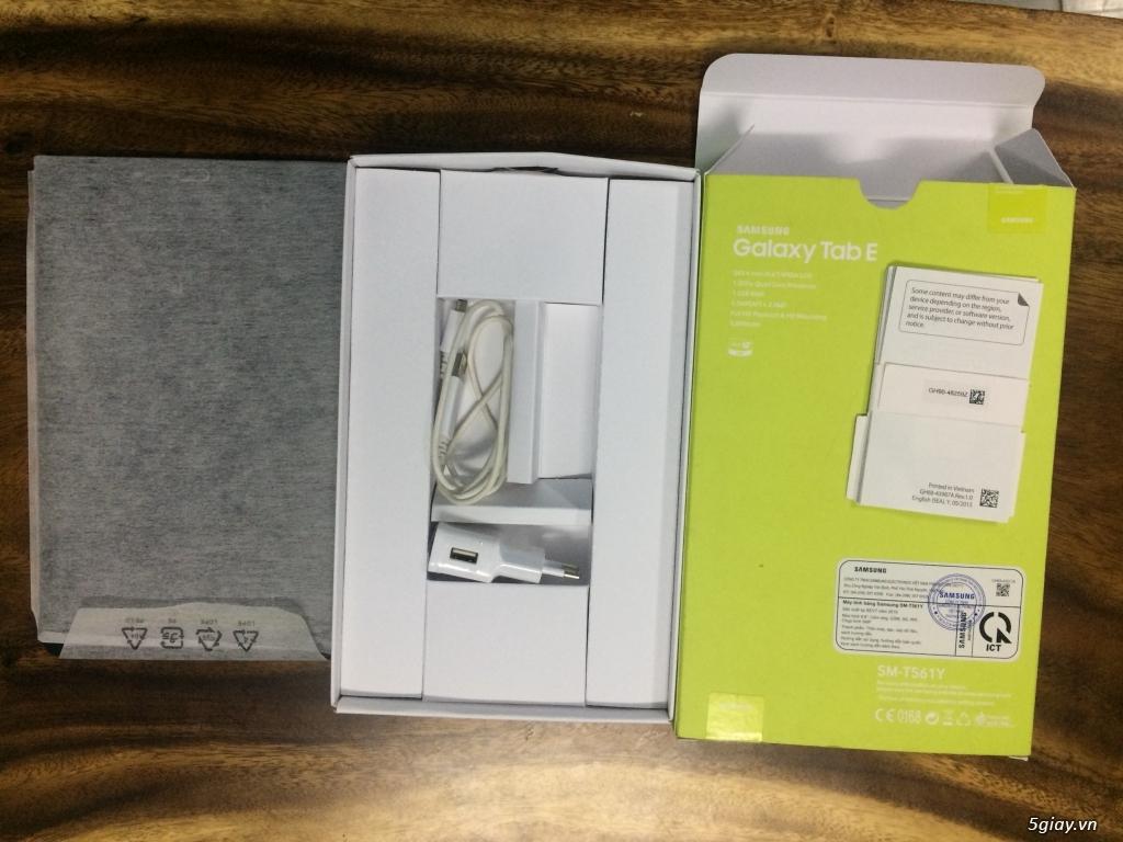Dư xài bán Galaxy tab E SM-T561Y mới mua, tặng kèm bút cảm ứng - 1