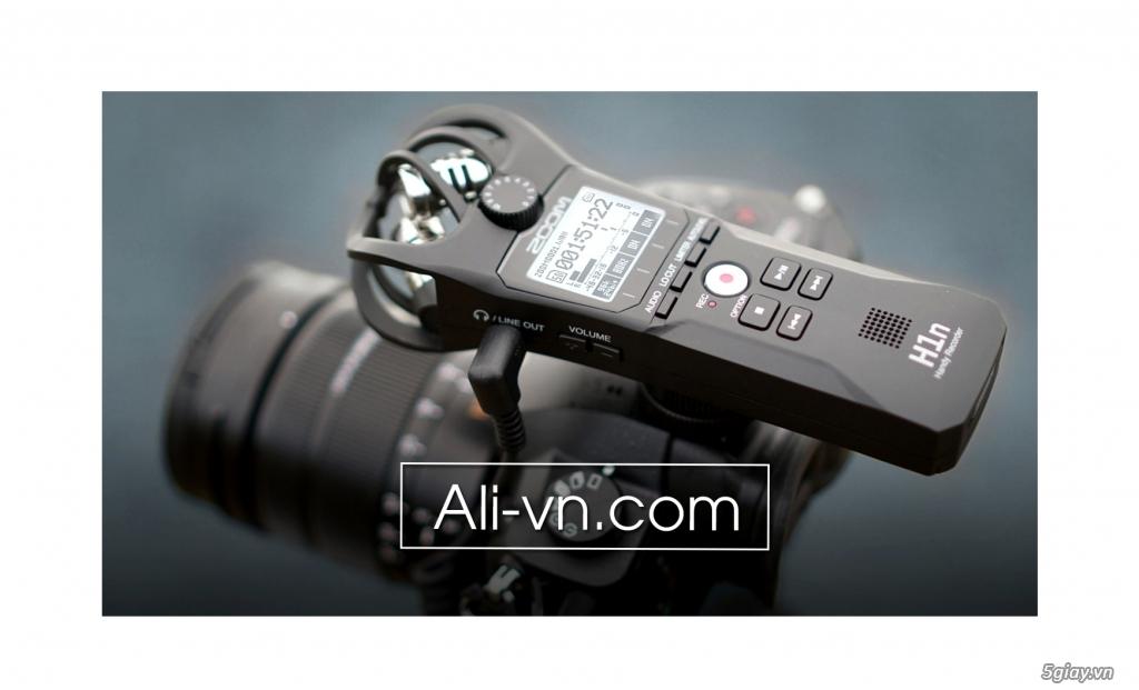 Máy ghi âm chuyên nghiệp Zoom H1N Handy Recorder - 1