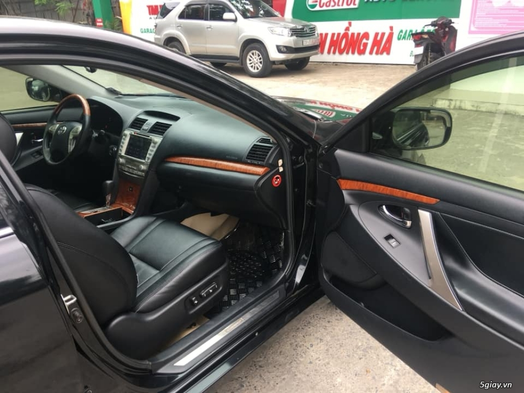 Bán Toyota Camry 3.5Q đời  2008, số tự động, màu đen - 6