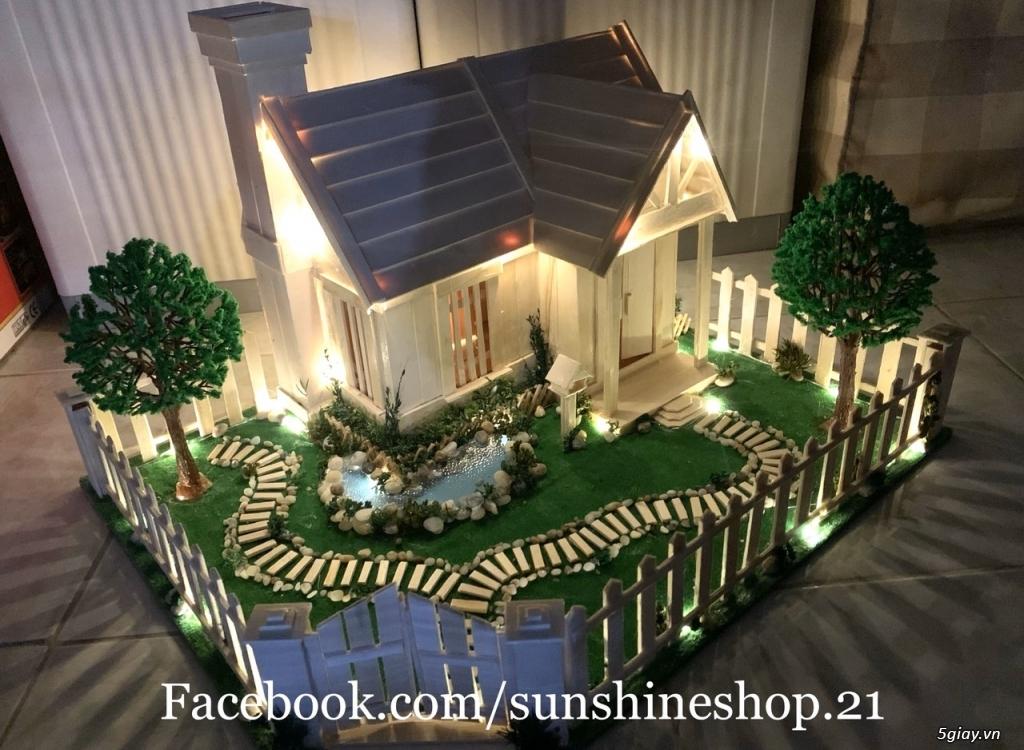 SunShineShop - Nhận đặt làm mô hình nhà que theo yêu cầu - 4