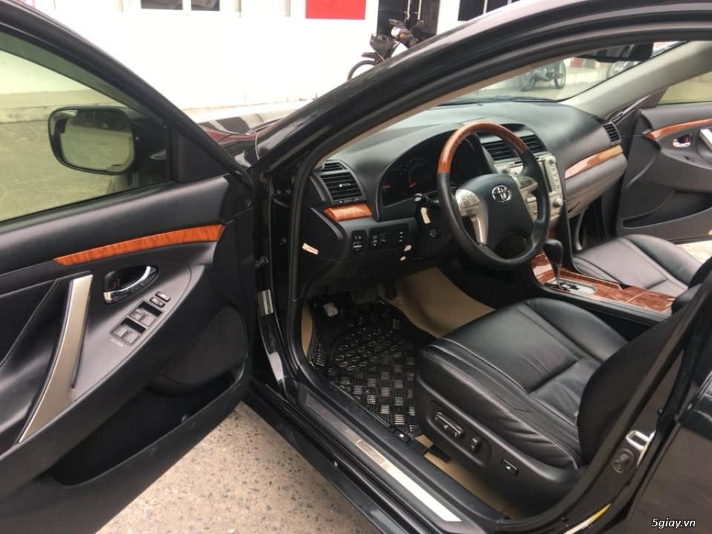 Bán Toyota Camry 3.5Q đời  2008, số tự động, màu đen - 5