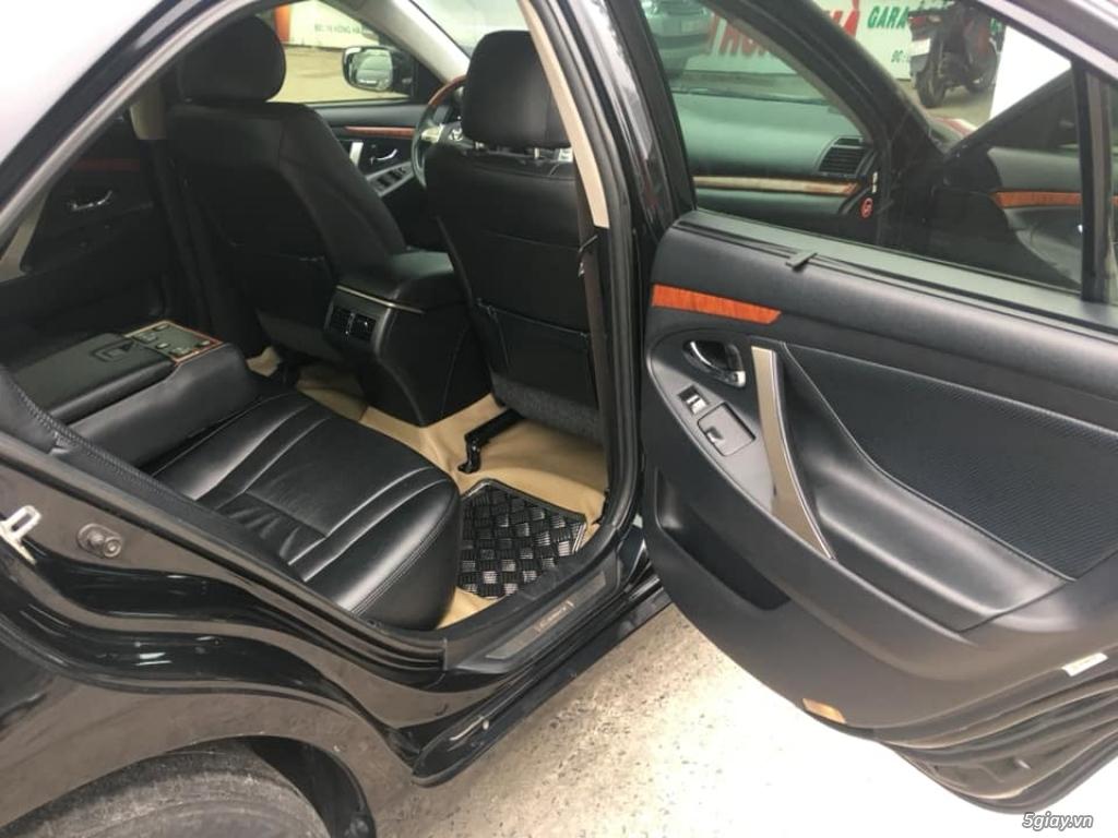 Bán Toyota Camry 3.5Q đời  2008, số tự động, màu đen - 4