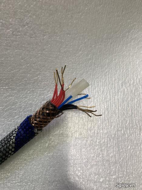 Dây Audio DIY và dây bãi chọn lọc. - 5