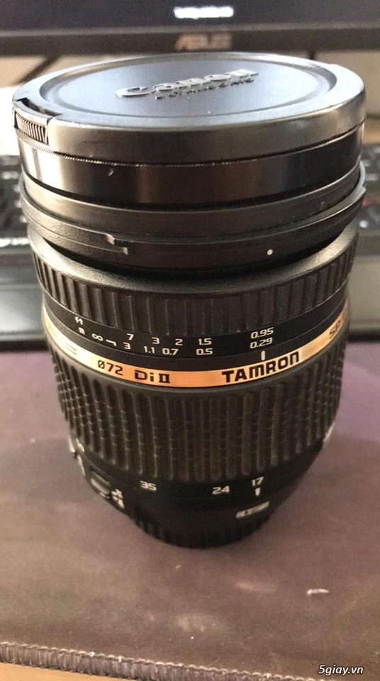 Lens Tamron Canon 17-50 F2.8 VC DI SP II