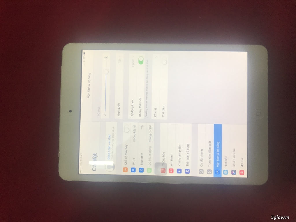 Ipad mini 2 phiên bản xài sim 16G 4g màu trắng đẹp 99% - 1