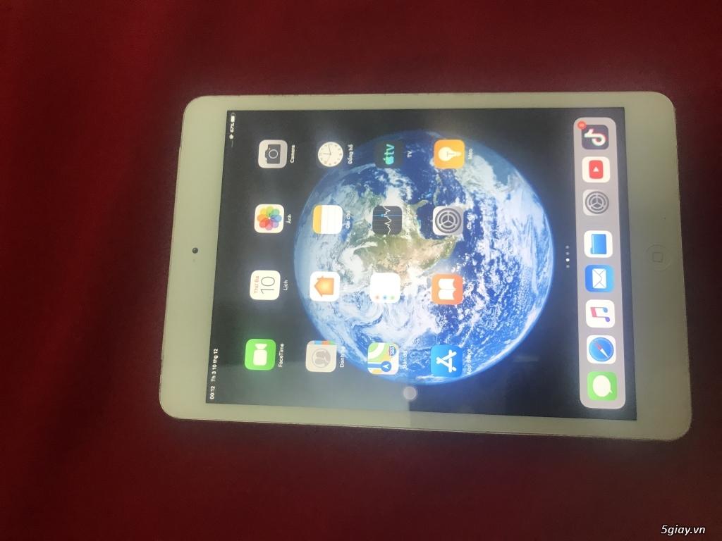 Ipad mini 2 phiên bản xài sim 16G 4g màu trắng đẹp 99%