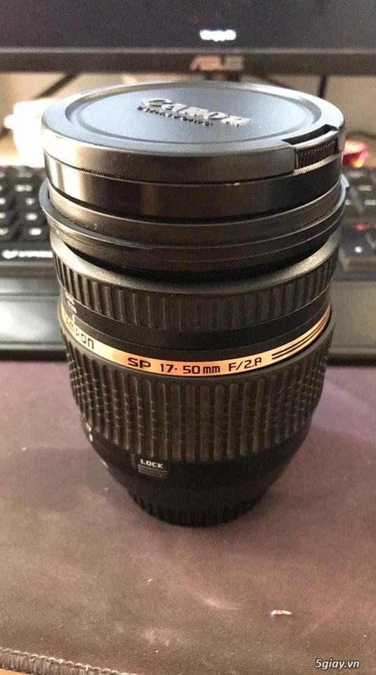 Lens Tamron Canon 17-50 F2.8 VC DI SP II - 2