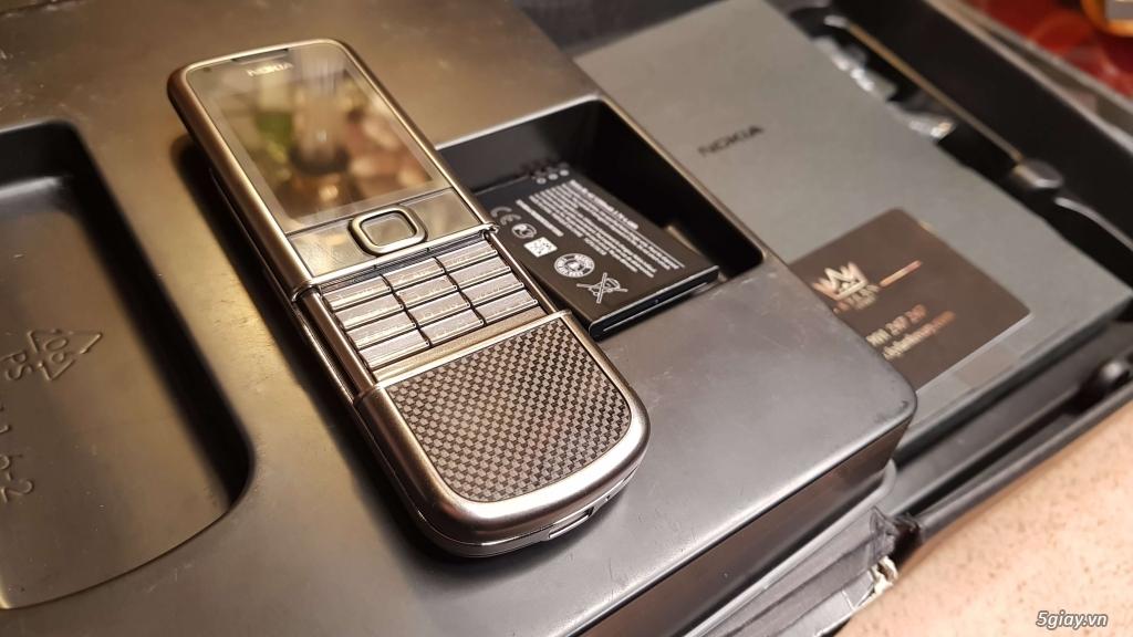 Nokia 8800 Cacbon Arte Fullbox Like New - 4