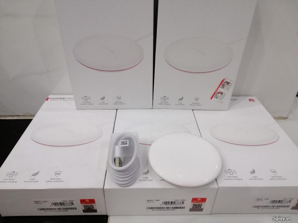 Sạc nhanh không dây Huawei Wireless Charge 15W CP60 new 100% nguyên seal- End 22h59p - 24.12.2019 - 1