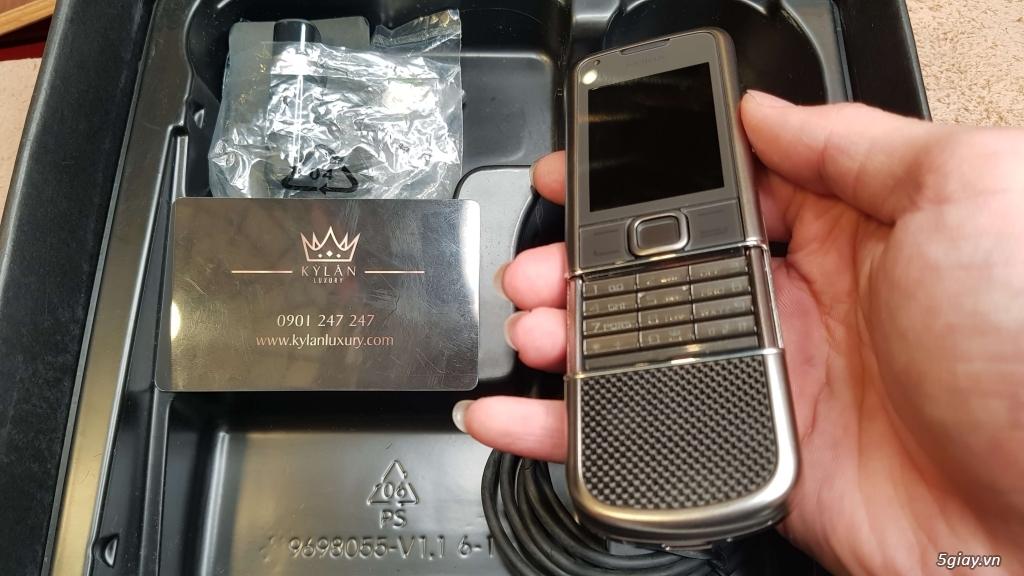 Nokia 8800 Cacbon Arte Fullbox Like New - 3