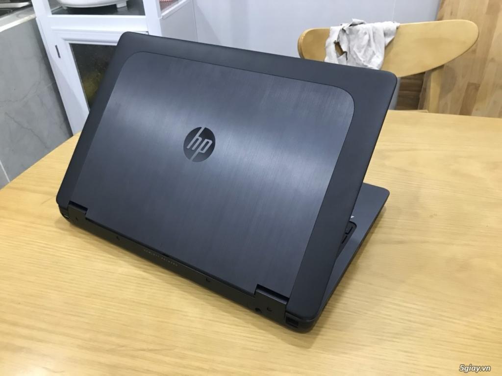 Cần bán Laptop Hp đồ họa Zbook 15G I7 4800MQ 8G SSD K1100 15,6 Full HD - 1