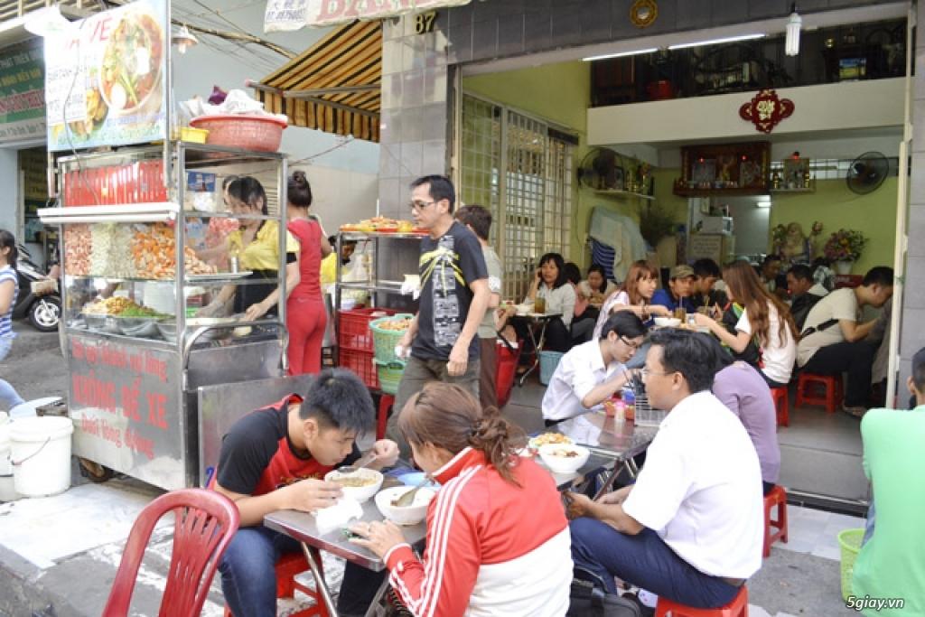 Bánh canh cua 87 Trần Khắc Chân - Địa chỉ ăn ngon Sài Gòn