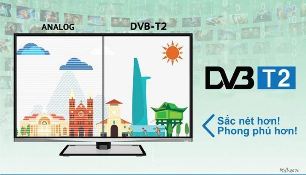 Tivi tích hợp Truyền Hình Số Mặt Đất DVBT2!