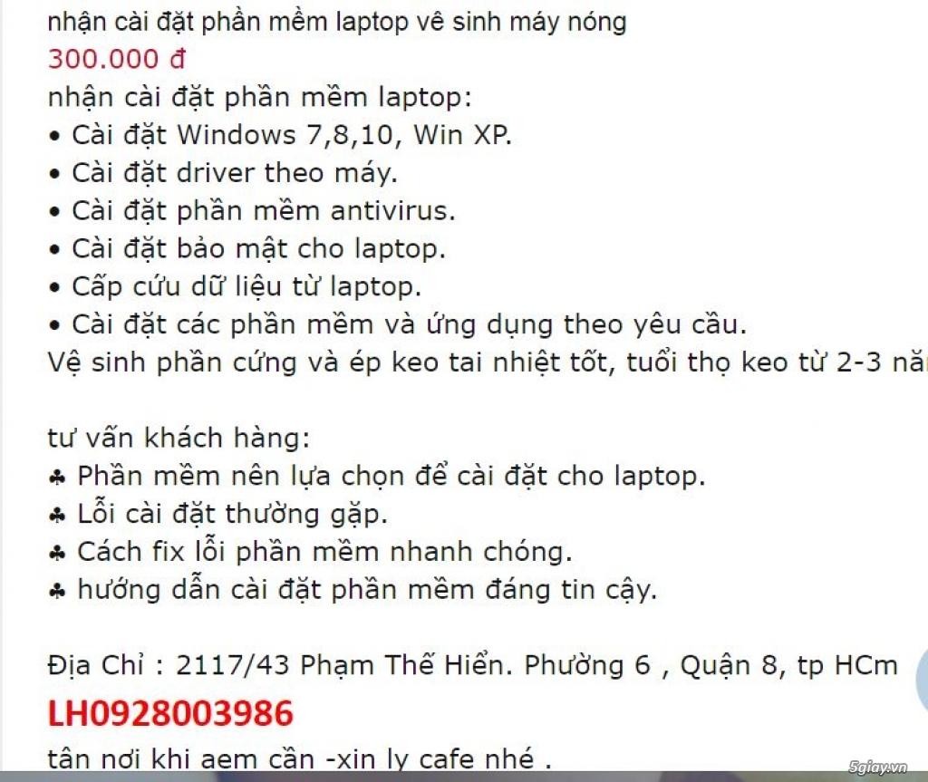 Wifi+Bt 4.0 Laptop+ Sửa laptop bị lỗi Wifi .máy nóng chậm, lấy liền - 3