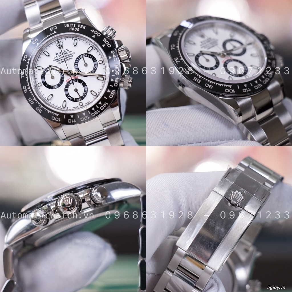 Chuyên đồng hồ Rolex, Omega, Hublot, Patek, JL, Bregue ,Cartier..REPLICA 1:1 AutomaticWatch.vn - 1